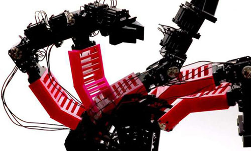 A robot with multiple artificial arms